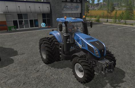 T 8 Ls new t8 dual wheels v1 ls17 farming simulator