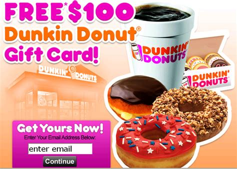 Dunkin Donuts Survey 25 Gift Card - dunkin donuts gift card specials infocard co