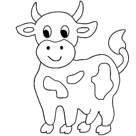 cow coloring page dr odd