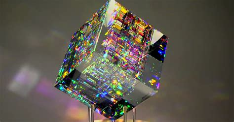 dichroic glass you seen anything sparklier bored panda
