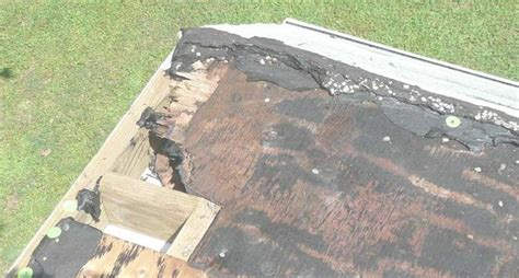Flat Roof Problems Flat Roof Repair For Crumbling Walls Roofer911