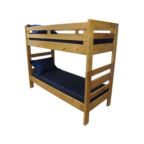 bunk bed wood heavy duty solid wood bunk bed c and dorm medmattress com