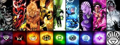 lantern colors thors vs lantern corps battles comic vine