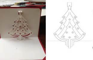 pop up tree card template kirigami card template consciousbeingwellness