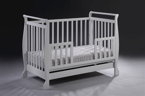 white wooden toddler bed new 3 in 1 white wooden baby cot bassinet toddler bed with