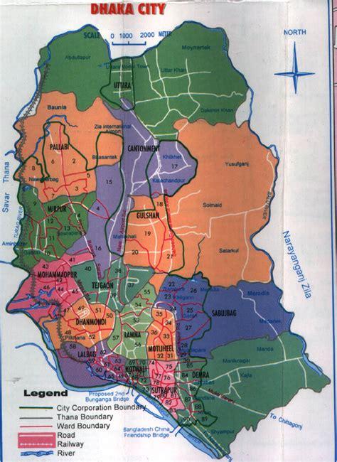 map of dhaka city dhaka city map bsagor s world