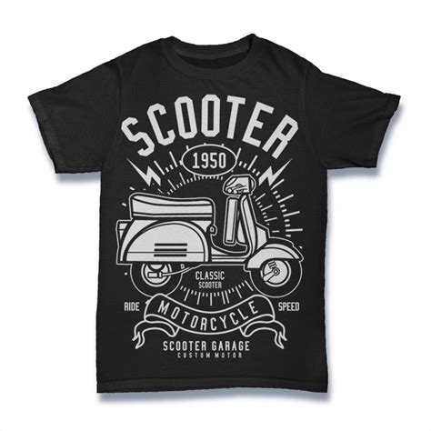 Tshirt Scoot scooter buy t shirt designs