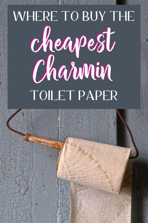 buy  cheapest charmin toilet paper smart family money