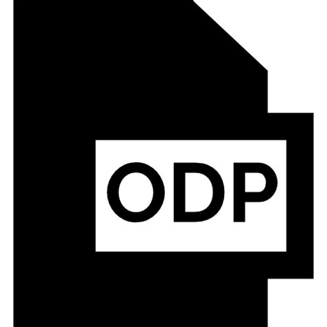 format file odp odp free multimedia icons