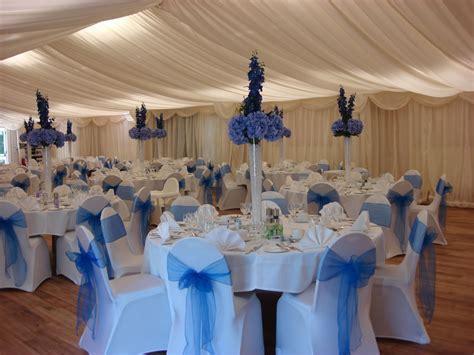 Royal Blue Table Decorations   Venue Decoration Gallery