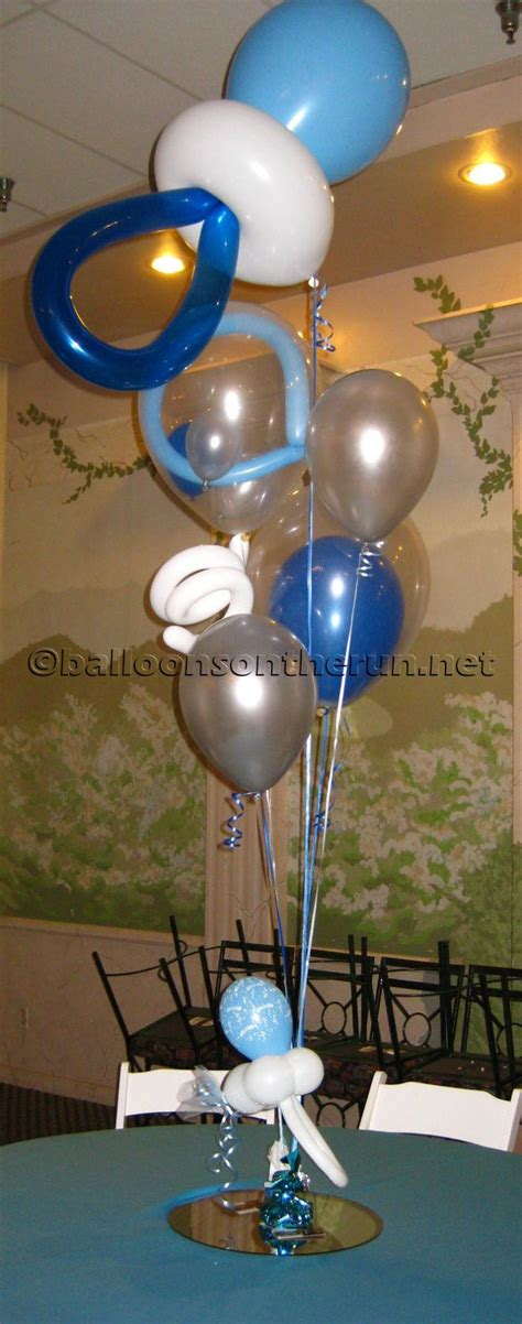 Baby Shower Balloon Decoration Party Favors Ideas Balloons Baby Shower Centerpieces