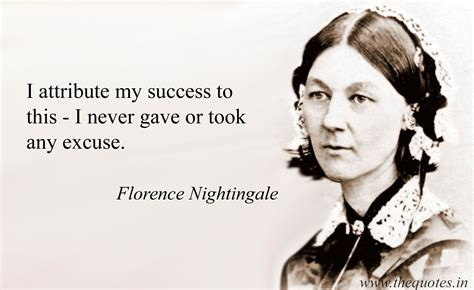 How To Make Florence Nightingale L by I Attribute Success To This I Never Gave Or Took Any