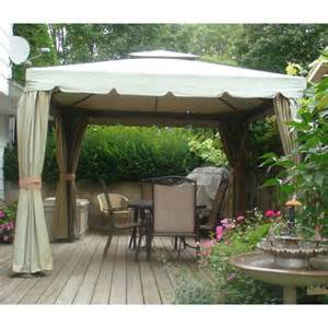 Patio Gazebo Costco Costco Canada Replacement Gazebo Canopy Garden Winds Canada