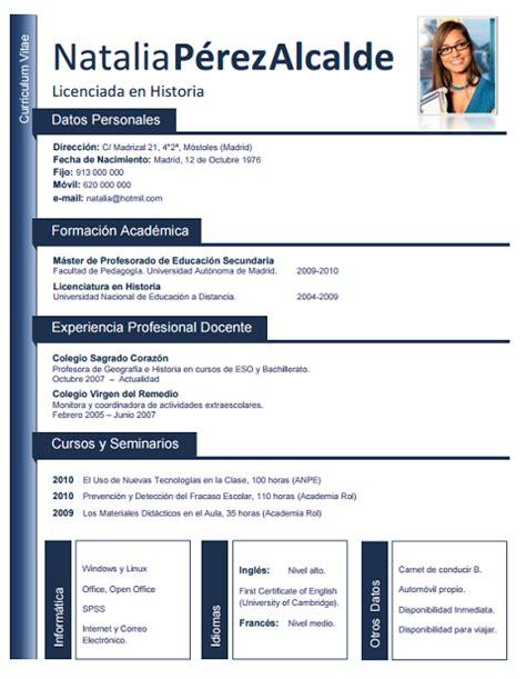 Curriculum Vitae Modelo Para Completar Medico Elaboraci 243 N Curriculum De M 233 Dicos O Enfermeras Plantillas De Cv Para Hospitales Cvexpres