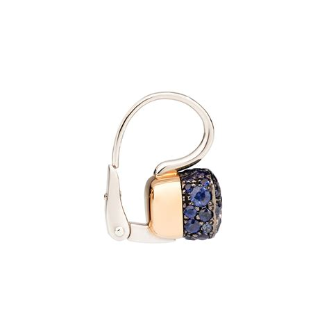 pomellato nudo earrings pomellato sapphire nudo earrings betteridge