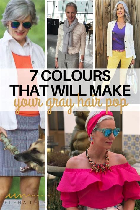 Best Colors To Wear Ith Salt And Pepper Hair | 1527 best great gray grow out 2017 images on pinterest