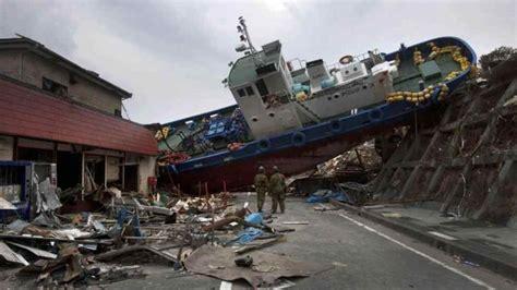 imagenes extrañas en tsunami japon la bala tsunami el terror de los mares video