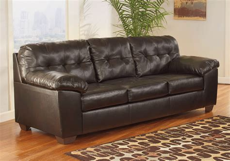 Durablend Sofa by Alliston Durablend 174 Chocolate Sleeper Sofa