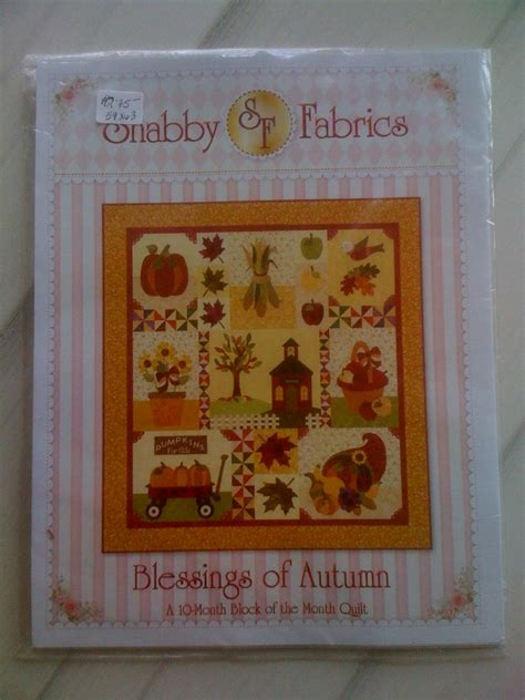 Autumn Quilt Kits by Blessings Of Autumn Quilt Kit 692014000009