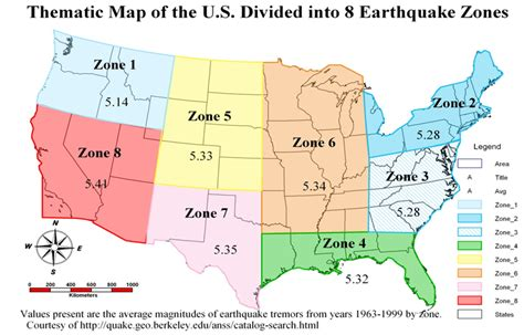 america earthquake zone map archives herepup