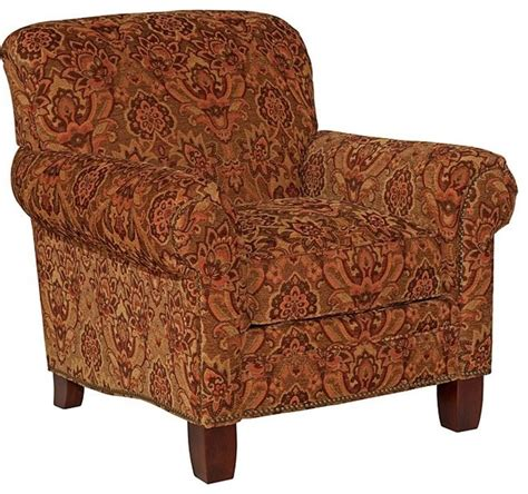 Chair Upholstery Fabric Broyhill Shauna Paisley Accent Chair 016119 0q