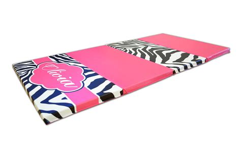 How To Buy Mat by Buy Together And Save Pink Zebra Print Monogram 4 X 8