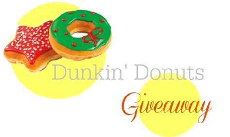 Where Can I Buy 5 Dunkin Donuts Gift Cards - dunkin donuts 100 christmas giveaway southern savers
