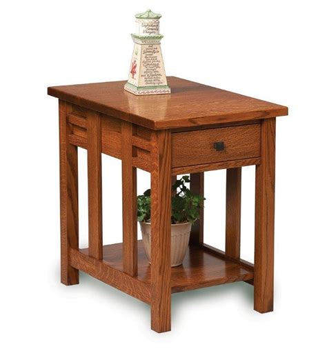 amish kascade end table