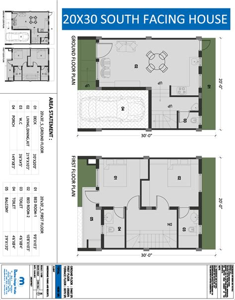 house plan for south facing plot fp2 house plan plans 20x30 plot list disign for south facing modern charvoo