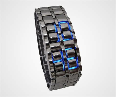Led Iron Samurai Tokyoflash Replica Blue iron samurai blue led dudeiwantthat