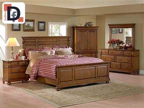 Dark Wood Bedroom Sets by Decent Furnitures Bed Dressing And Suiting Almari