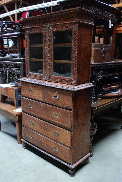 Display Cabinets India Indian Rosewood Display Cabinet Goa For Sale At 1stdibs