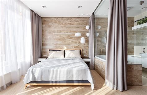 privacy wall for bedroom a pair of stylish apartments that put their extra rooms to