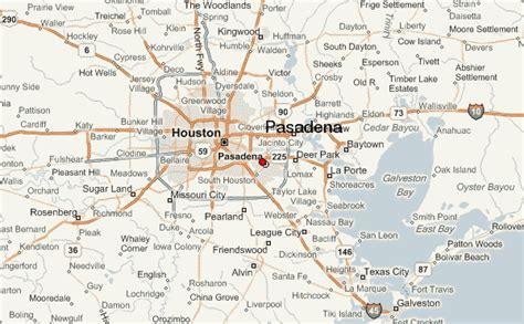 map of pasadena texas pasadena location guide