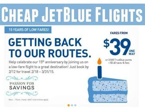 cheap jet blue flights sale one way flights as low as 39