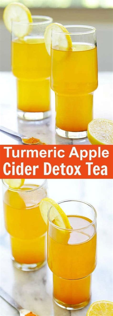 Apple Cider Vinegar Honey Detox by Turmeric And Apple Cider Vinegar Detox Tea Healthy Detox