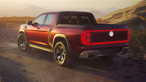 volkswagen truck concept vw s atlas pickup truck concept is real but don t get too