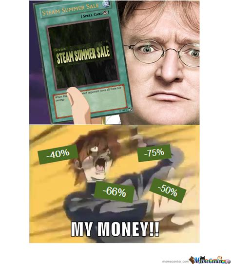 Steam Summer Sale Meme - steam summer sale by trolluniverse69 meme center