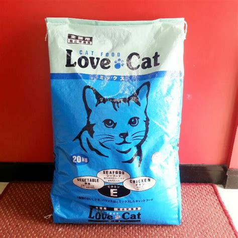 Makanan Kucing 20kg cat 20kg makanan kucing cat food pet supplies