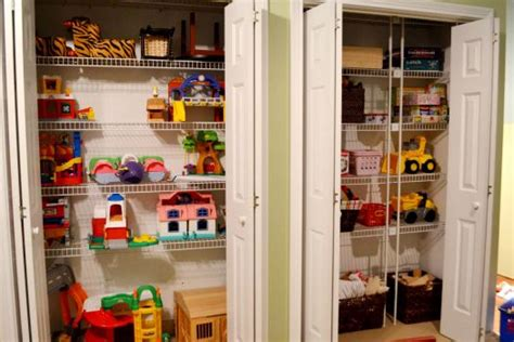 Calico Closet by Lovely Playroom Makeover They Analyzed What