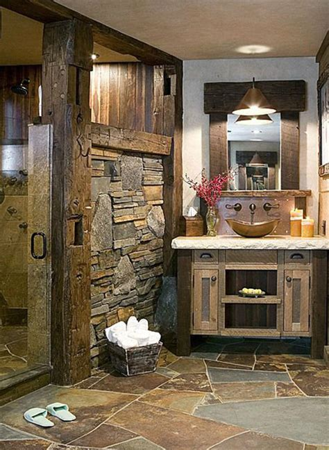 Industrial living room furniture, rustic bathroom design