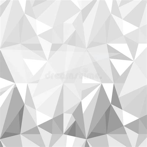 gray triangle pattern vector geometric triangle pattern background grey white vector