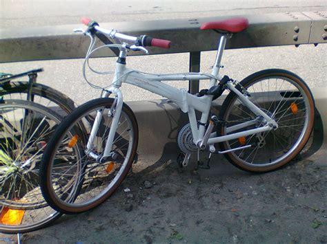 stolen pininfarina folding bike