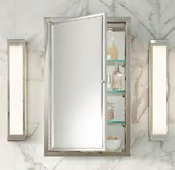 picture medicine cabinet framed lit right opening inset medicine cabinet