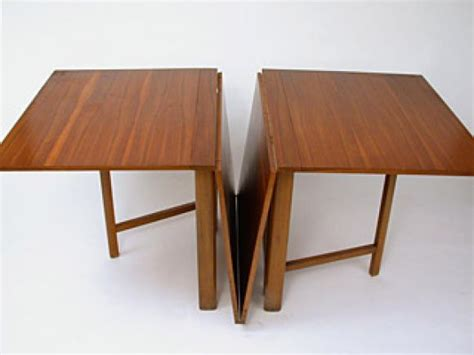 Drop Leaf Dining Table With Folding Chairs Drop Leaf Teak Dining Table By Bruno Mathsson At 1stdibs