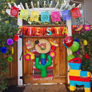 Graduation Backyard Party Ideas - mexican party cupcake bouquet how to party city