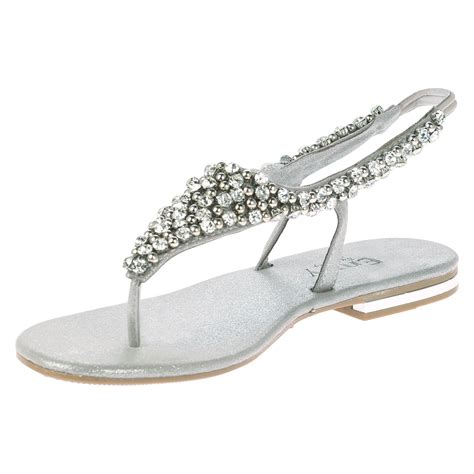 formal flats shoes womens flats diamante low heels evening dress formal
