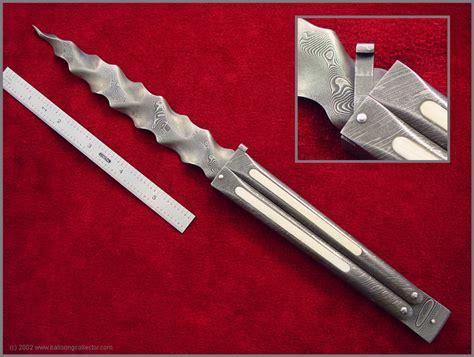 Handmade Balisong - gallery d pabu knives