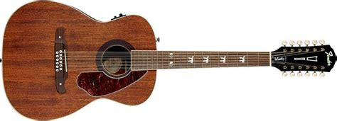 Gitar Elektrik String Fender New fender tim armstrong hellcat 12 string acoustic electric guitar mcquade