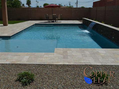 Waterfall Backyard Design Swimming Pool And Spa Full Image Gallery
